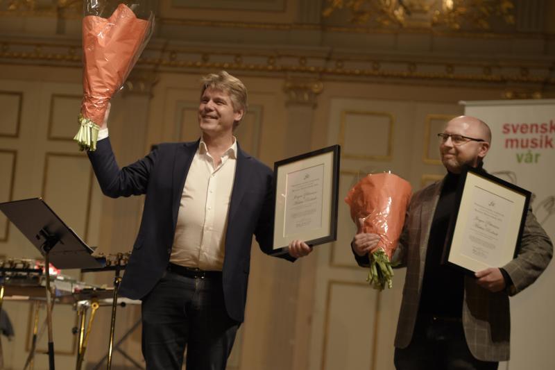 Musikens Möjliggörare 2018 tilldelas Jörgen Pettersson och Mattias Rodrick